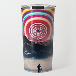 Behind The Mountain Travel Mug
