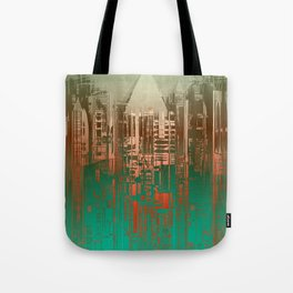 Over the Green / Density Series Tote Bag