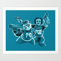 Beware the PoPoe Art Print