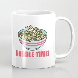I Love Noodle Kawaii Artwork Coffee Mug