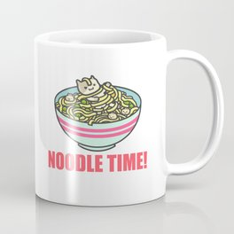 I Love Noodle Kawaii Artwork Coffee Mug