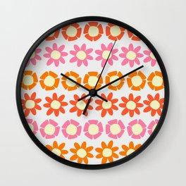 Peggy Retro Wall Clock