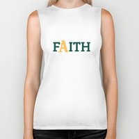 oakland Biker Tanks featuring Oakland A's Faith by Good Sense