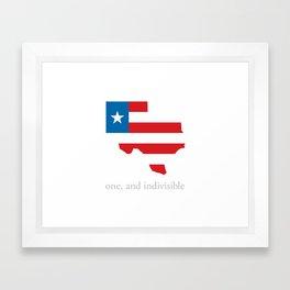 7th Flag of Texas Framed Art Print
