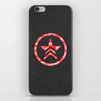 "n7 iPhone & iPod Skins featuring ""My Favorite Things"" Renegade by Helenasia"