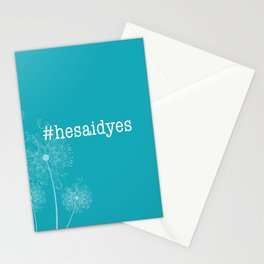 #hesaidyes Stationery Cards
