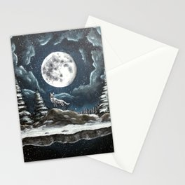 The Wolf's Wild Spirit  Stationery Cards