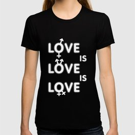 love - Gay Pride T-Shirt T-shirt