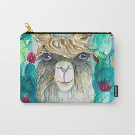 Llama in cacti Carry-All Pouch
