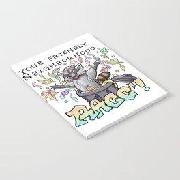 Your Friendly Neighborhood Raccoon Notebook