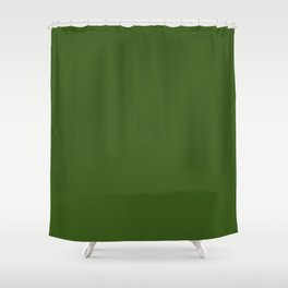 Khaki Green Shower Curtain