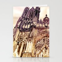 takmaj Stationery Cards featuring Reims by takmaj
