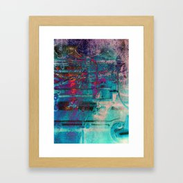 B-Abstract 07 Framed Art Print