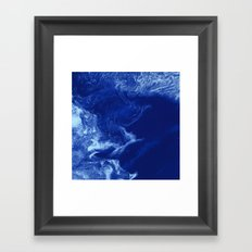 Ice Stars Framed Art Print