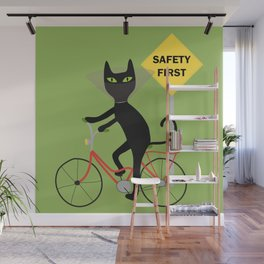 Safety first Wall Mural