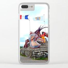 Shediac Lobster Clear iPhone Case