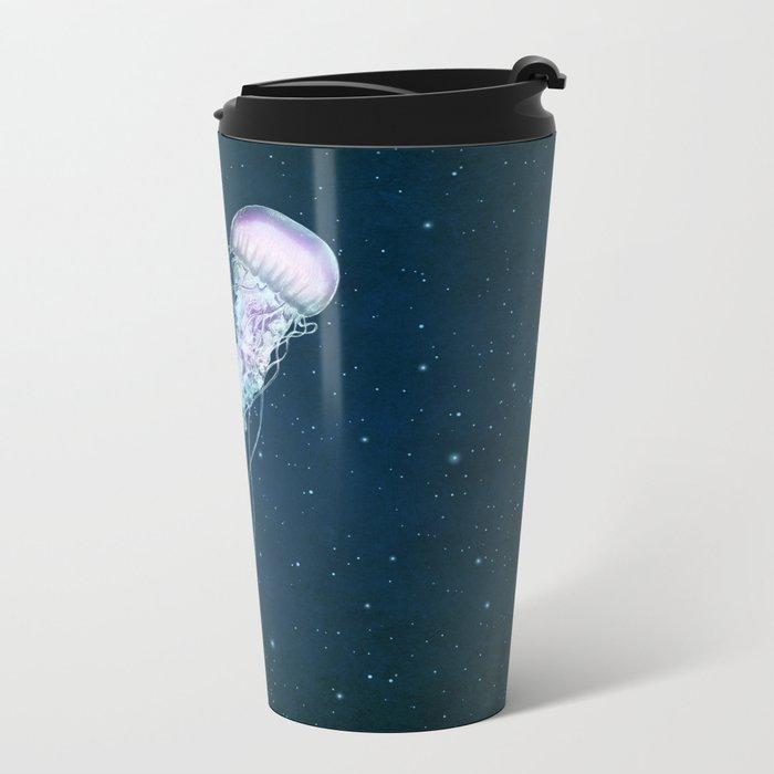 Space Jelly Metal Travel Mug