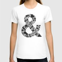 helvetica T-shirts featuring Helvetica Ampersand  by Phillip Kauffman