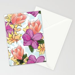 the magnolia Stationery Cards