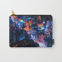 Tokyo Night Carry-All Pouch