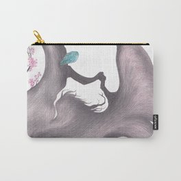 Penelope in bloom (detail) Carry-All Pouch