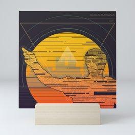 Augustuswave 001 Mini Art Print
