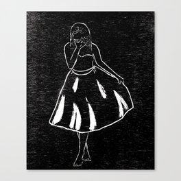 Just Look Pretty Canvas Print