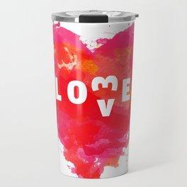 Love is like... Travel Mug