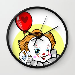 Pennywise the Winking chibi clown Wall Clock