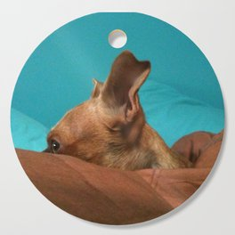 MADiSON (shelter pup) Cutting Board
