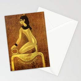 Ancient - Egyptian Wall Paintings 1956, Tomb of Amenophis II - Isis Stationery Cards
