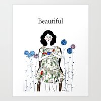 Pregnancy is the most beautiful thing Art Print