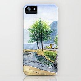 Fox in Lugano iPhone Case