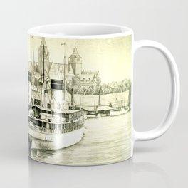 THE HARBOUR IN GREYS Coffee Mug