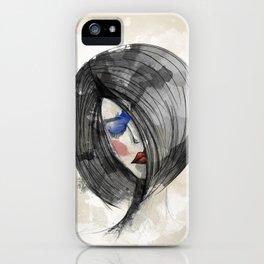 Girlie 02 iPhone Case