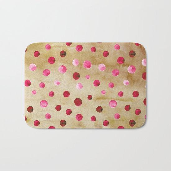 Polka Dot Pattern 04 Bath Mat