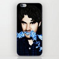 darren criss iPhone & iPod Skins featuring Darren Criss by weepingwillow
