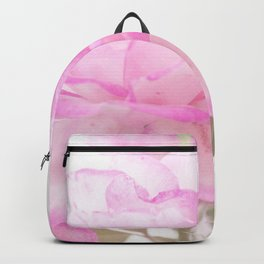 Light Pink Blend Rose #1 #floral #decor #art #society6 Backpack
