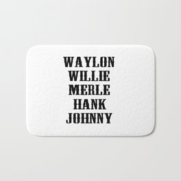 the original country legend Bath Mat