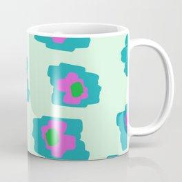 Pink and Green Coffee Mug