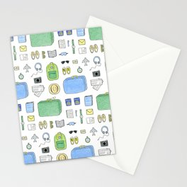 Happy Travels Stationery Cards