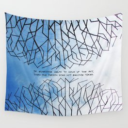 Hold On Wall Tapestry