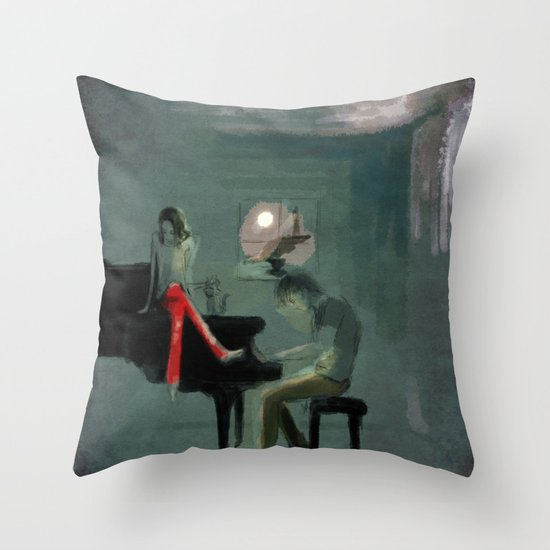 Just for one day Throw Pillow