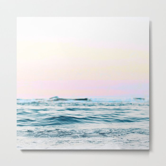 Dreamy Ocean #society6 #decor #buyart Metal Print