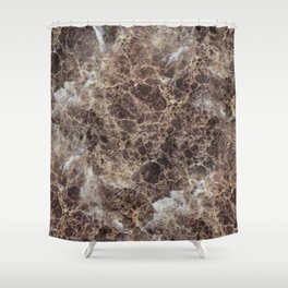 Textures of Marble Shower Curtain