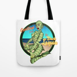 Greetings from the Black Lagoon Tote Bag