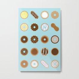 Donuts Metal Print