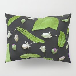 Leaves and flowers pattern (17) Pillow Sham