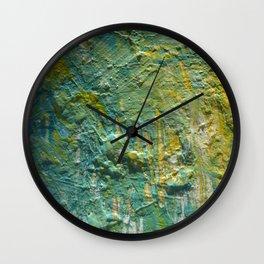 Water Scrape Wall Clock