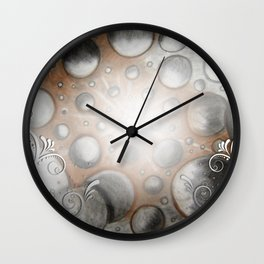 Planetoid Party Wall Clock